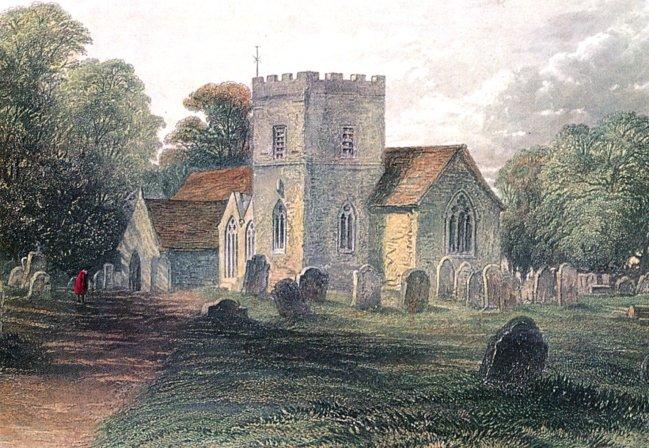 St. John's Boldre painting