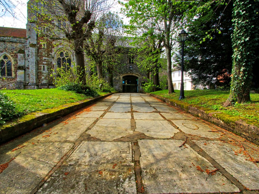 Gravestone Path
