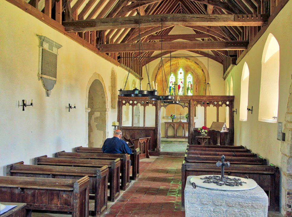 Colemore Church Nave