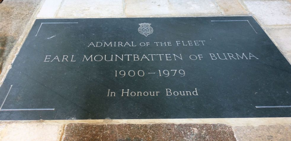 Mountbatten Plaque