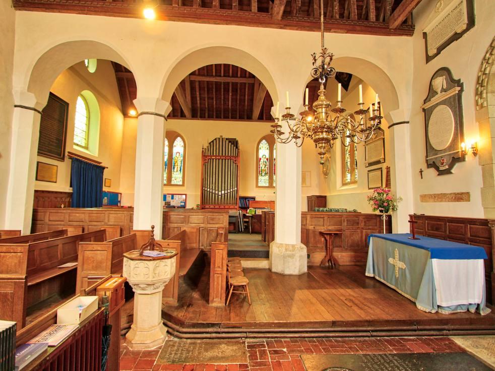 Upton Grey Church north transept