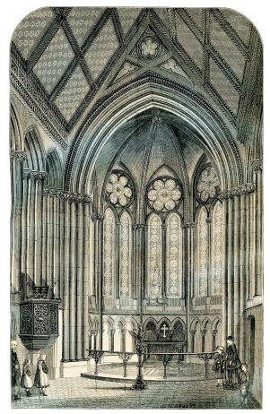 itchen stoke church interior