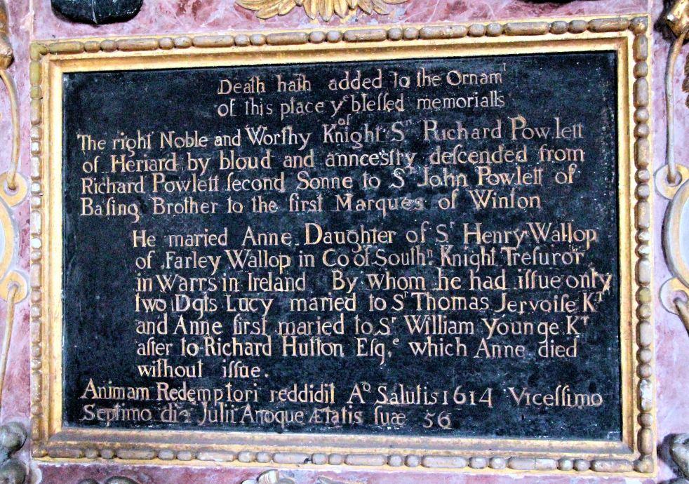 6 Tomb plaque