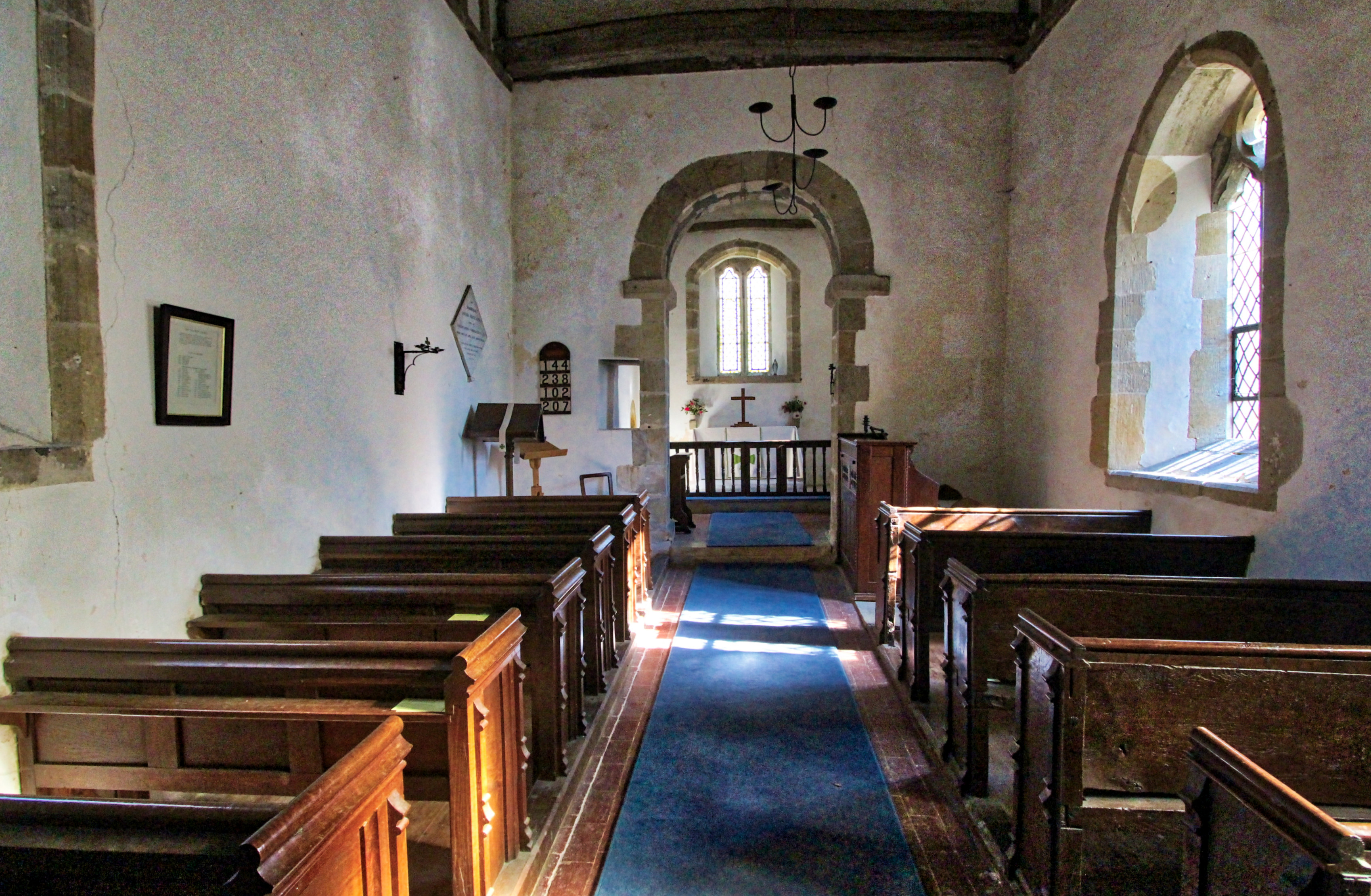 m Chithurst Church Nave