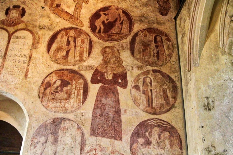 t Trotton Wall Paintings