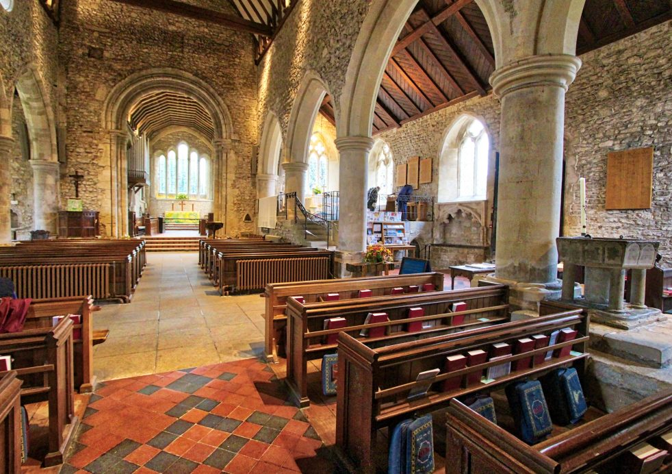 nave and south aisle