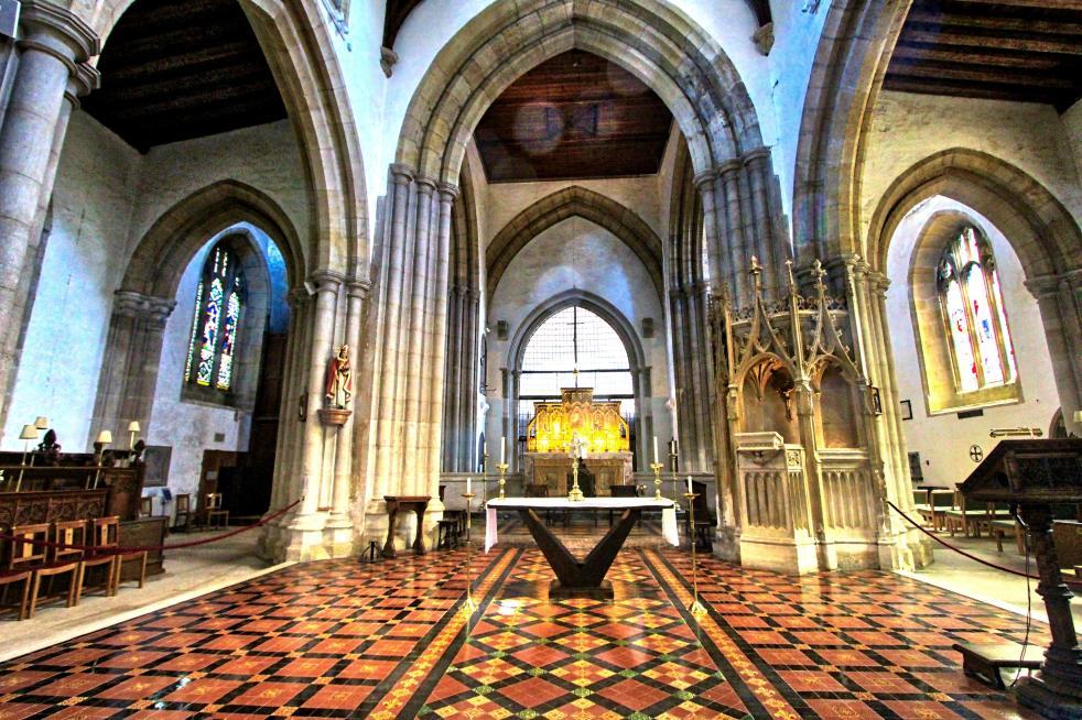 0 church chancel a