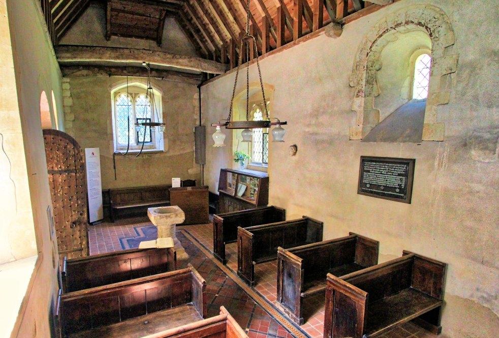 Ashley Church nave