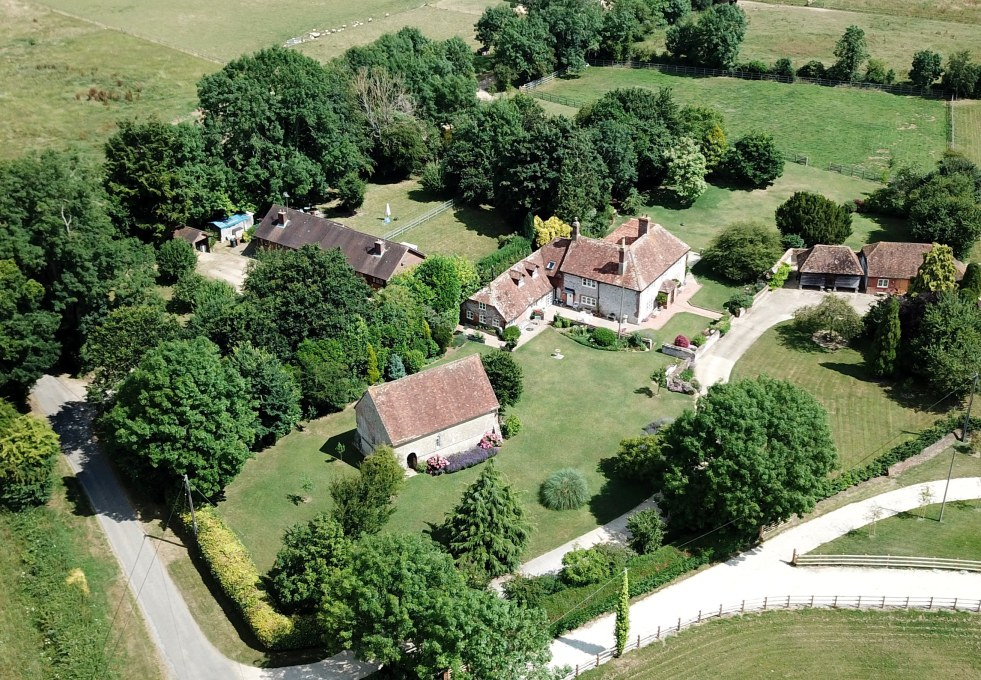 Eldon Church drone