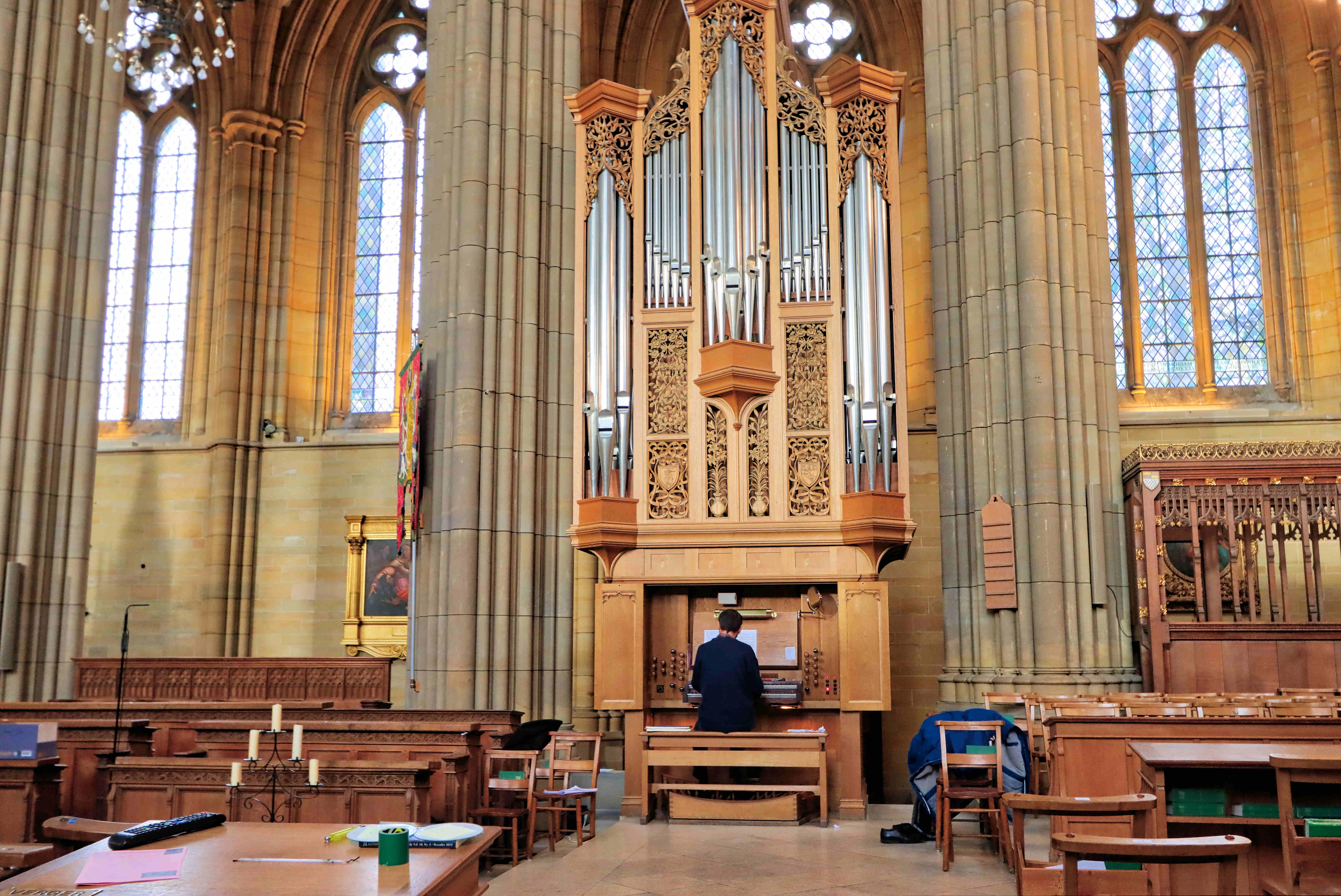 Lancing Chapel Organist