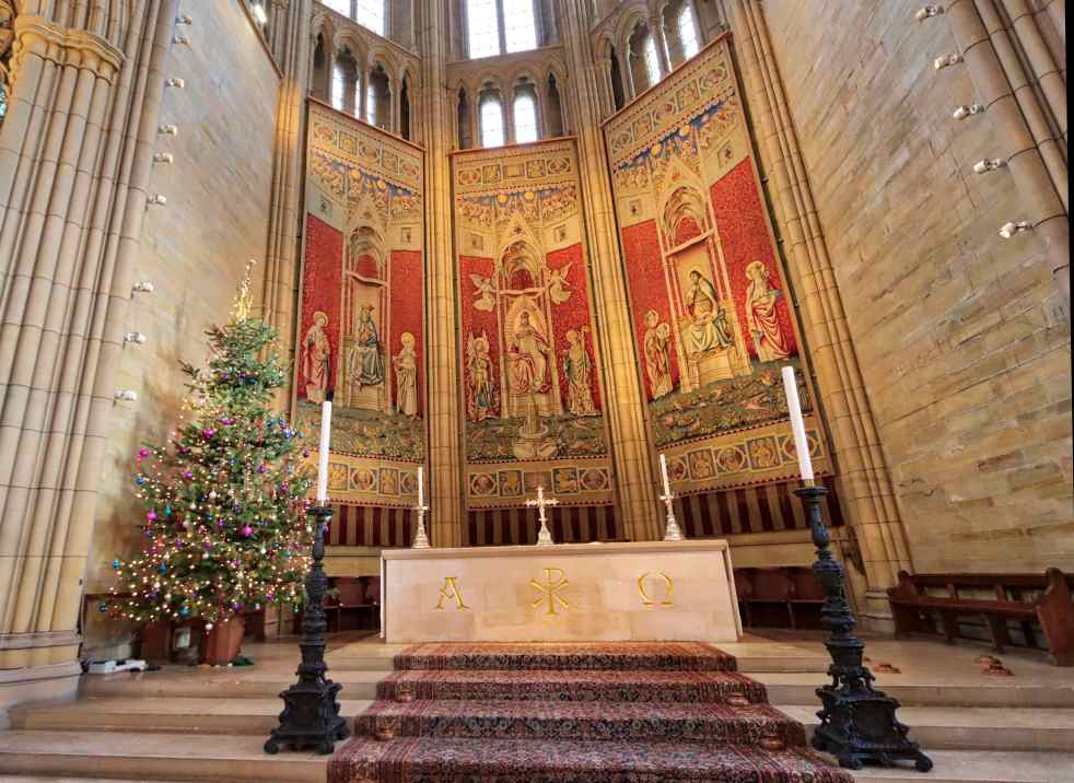 Lancing Chapel Sanctuary